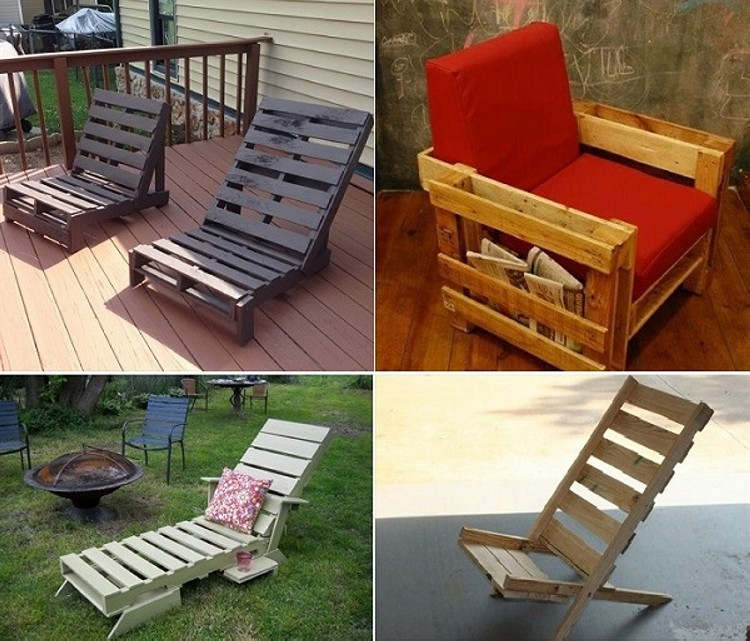 Pallet Chairs Collection