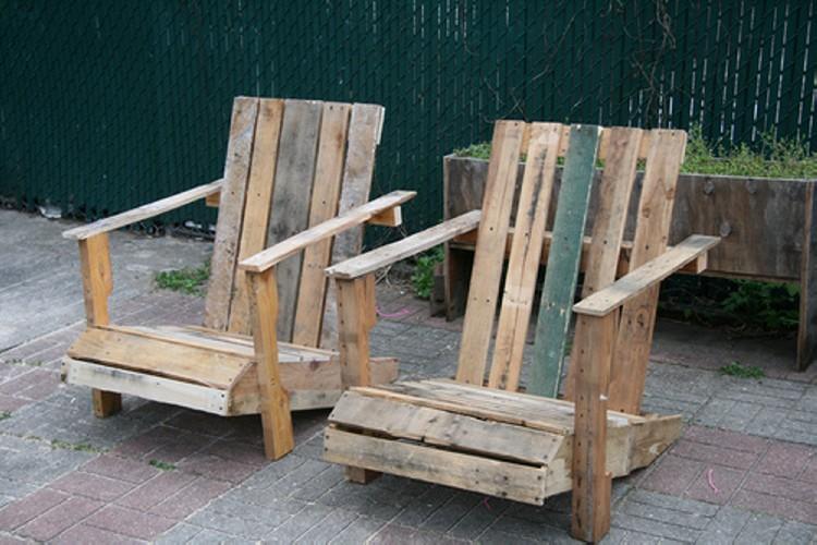 Pallet Outdoor Chair