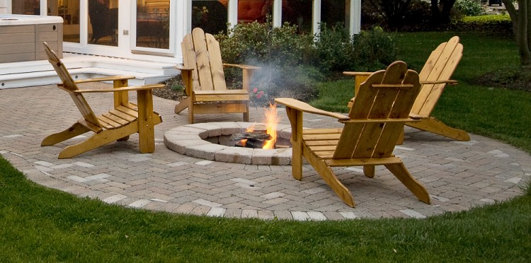 Patio Wood Pallet Chairs