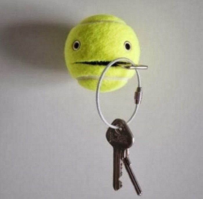 Tennis Ball Wall Holder