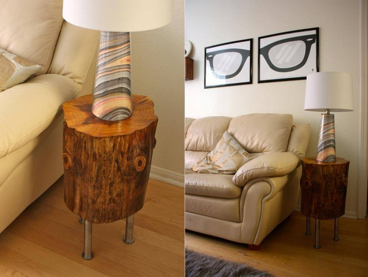 Tree Trunks Recycled