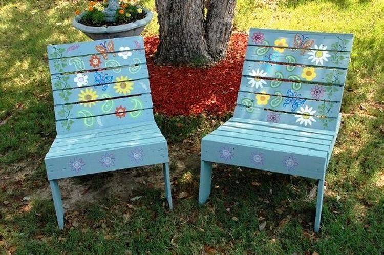 Unique Pallet Chairs