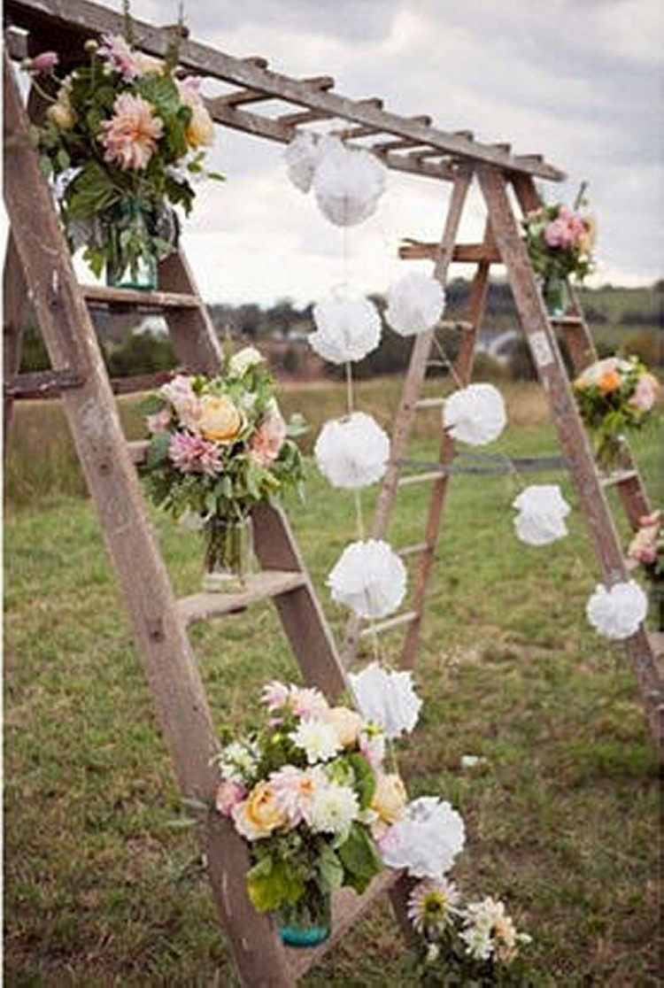 Ladders Upcycling / Recycling Ideas