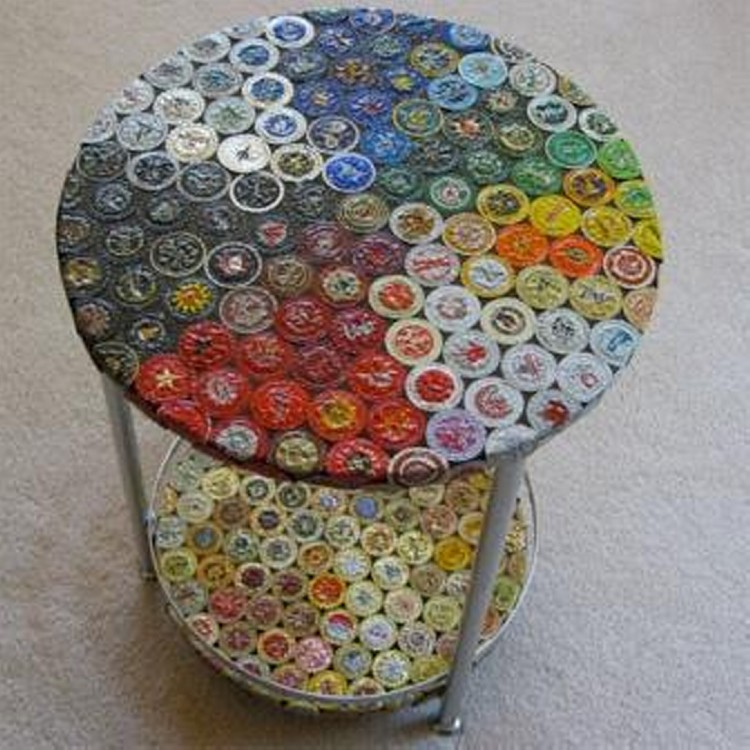bottle caps creations