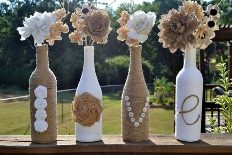 glass bottles crafts
