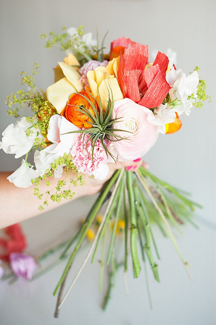 paper flower bouquet designs