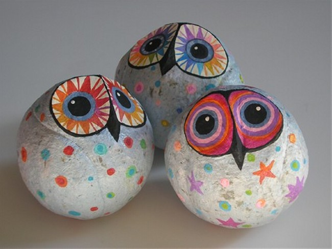 Paper mache art ideas upcycle art for Easy paper mache ideas