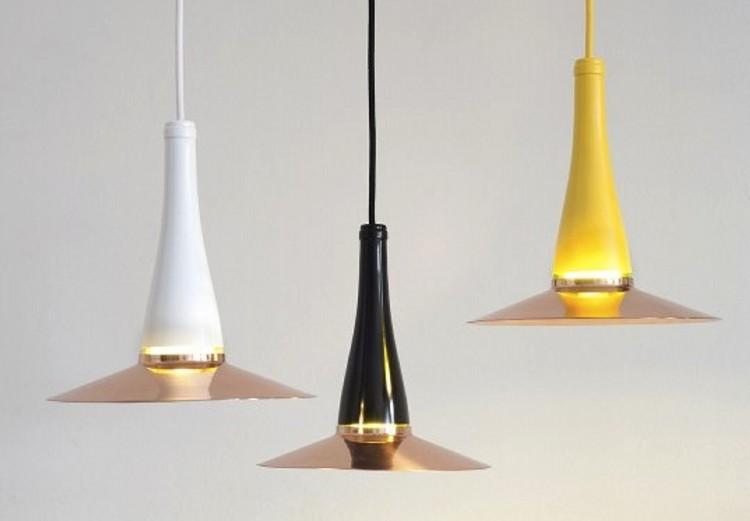 upcycled glass bottles pendants
