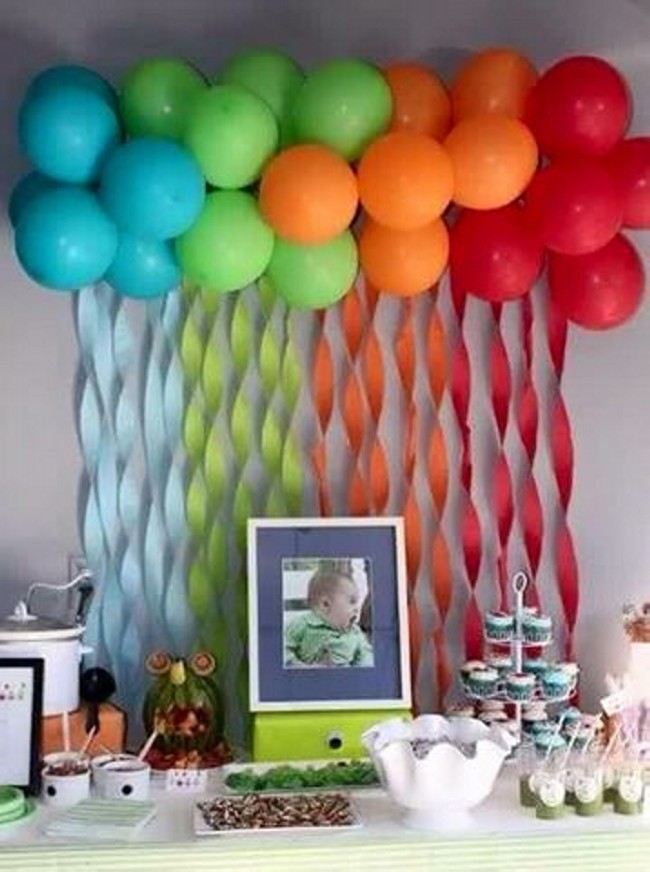 Balloon decoration ideas upcycle art for Balloon decoration making