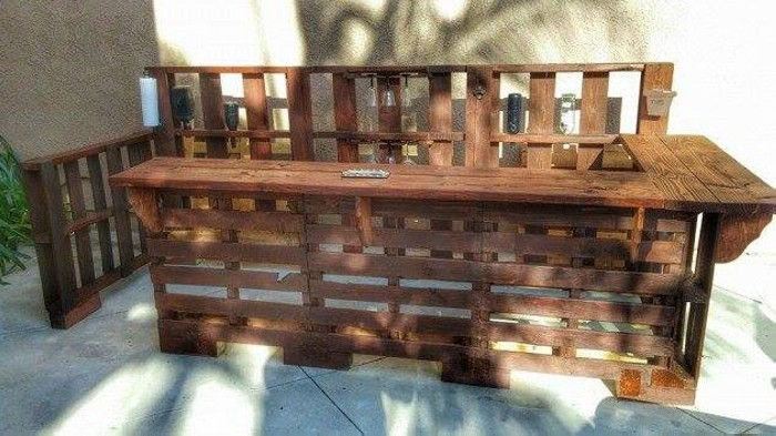 Bar Pallet Upcycling Ideas