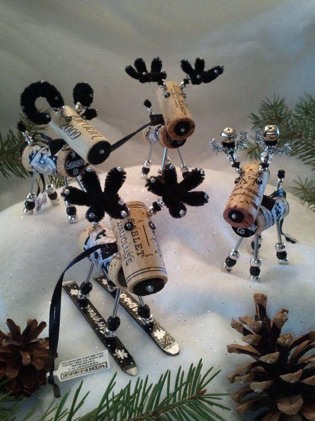 Bottle Corks Craft Idea