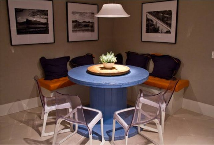 Cable Reel Dinning Table