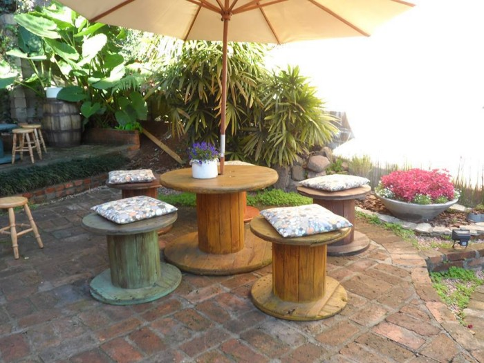 Cable Reel Garden Seatings