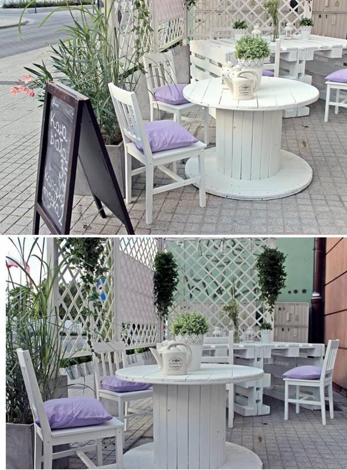 Cable Reel Oudoor Furniture Set