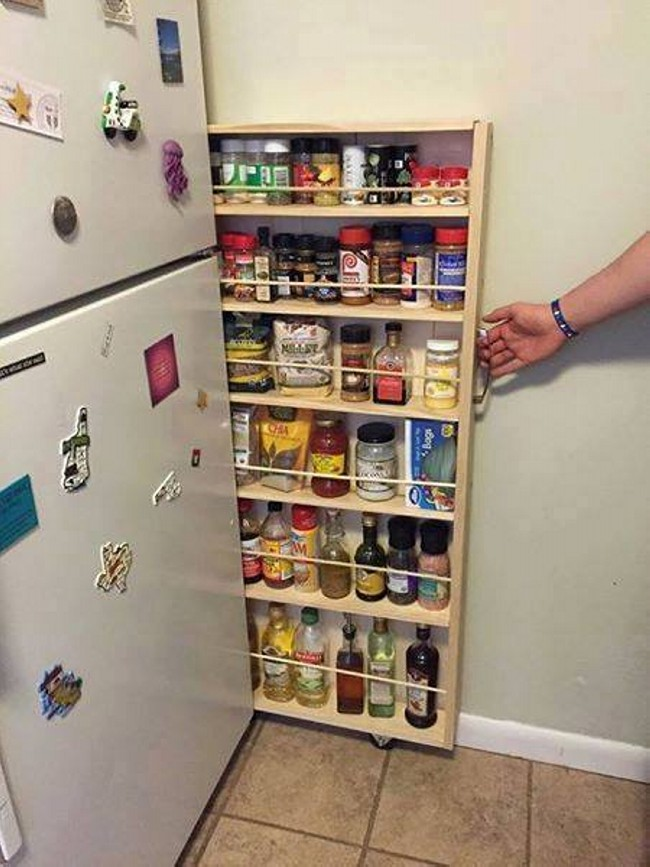 Clever Kitchen Storage Hacks