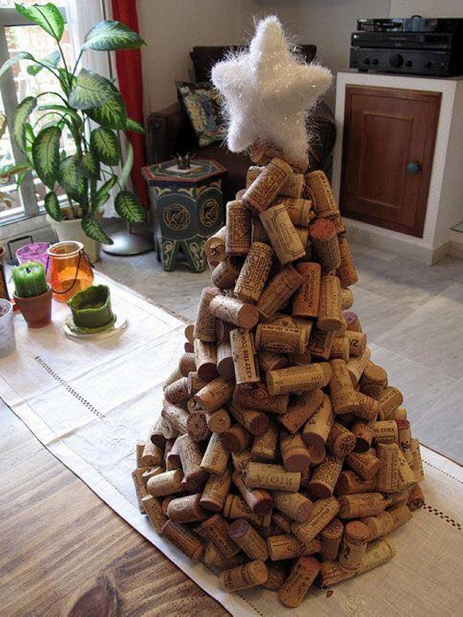 Corks Craft for Christmas