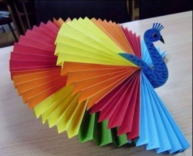 Creative paper art ideas upcycle art for Art and craft with paper easy