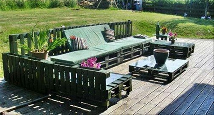 Deck Pallets Furniture