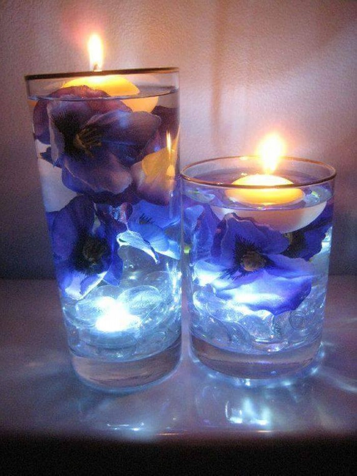 Decorating Candle Centerpiece