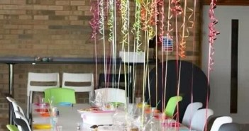Decoration with Balloons for table
