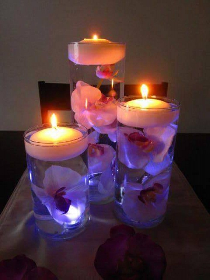 Decorative Candle Centerpieces