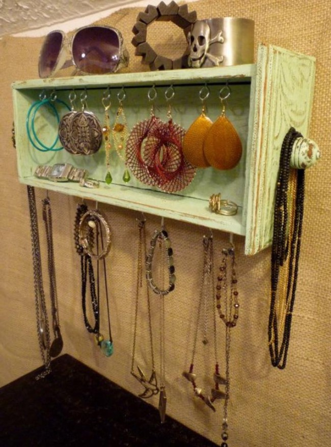 Dresser Drawers Upcycled Jewelry Box
