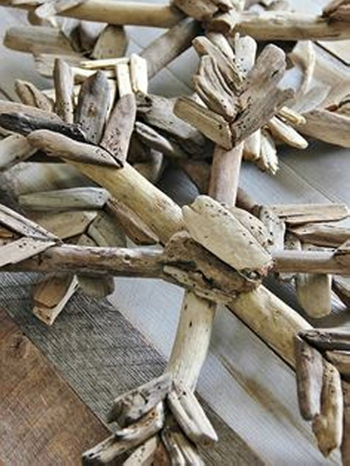 Driftwood Christmas Decorations