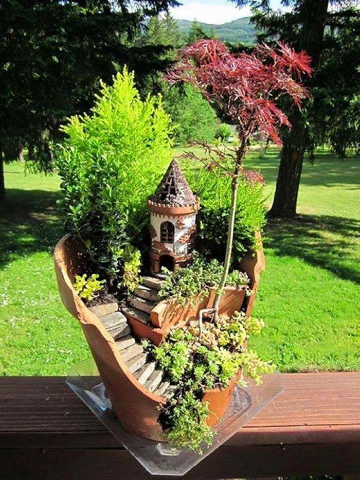 Fairytale Garden Art Ideas