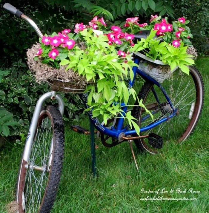 Garden Bicycle Art Projects