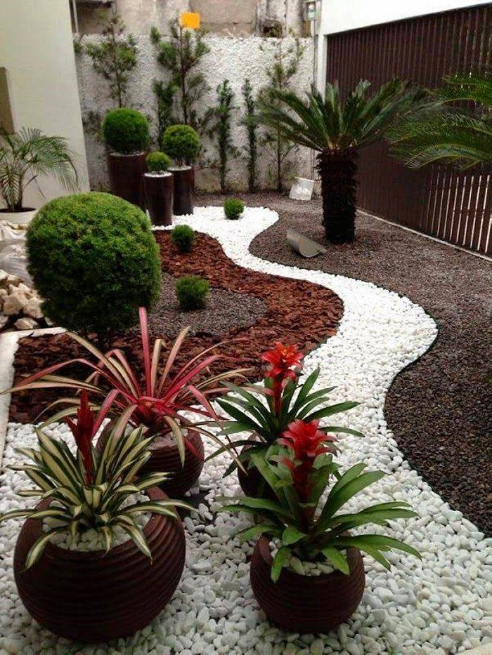 Garden Decor with Stones