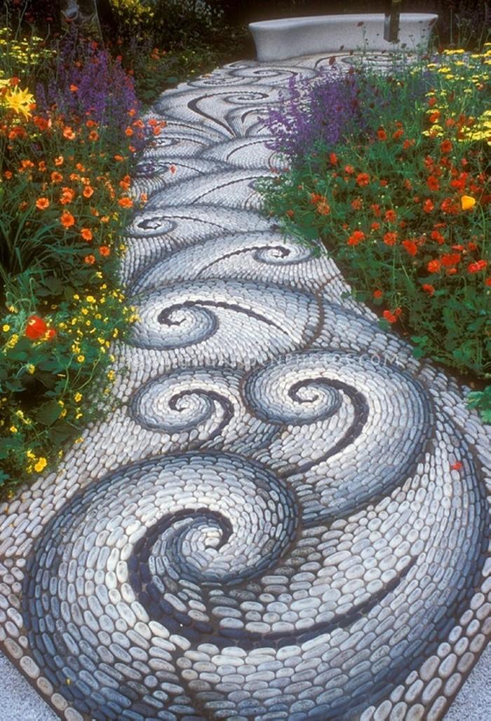 Garden Walkway Art