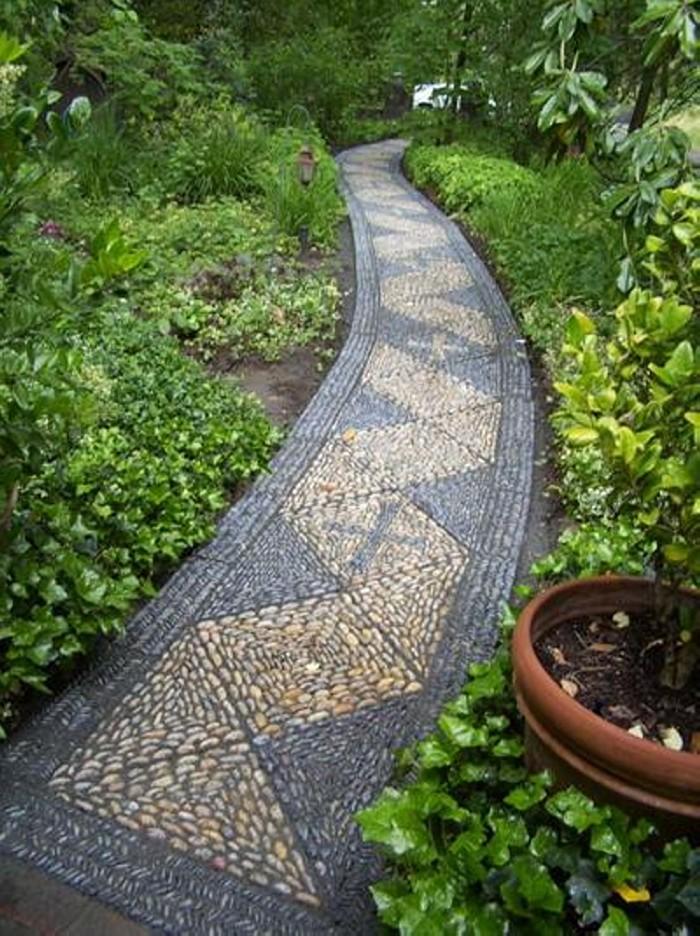 Garden Walkway Landscaping