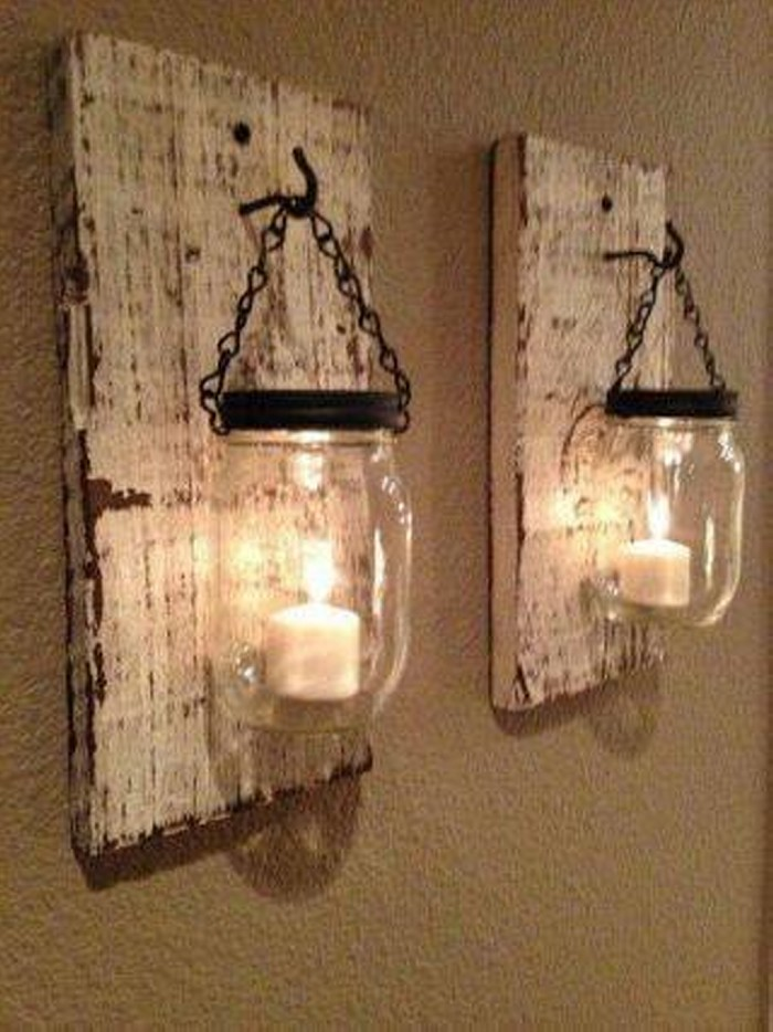 Mason Jar Wall Craft