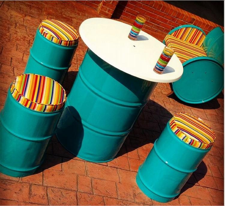 Metal Drums Recycled