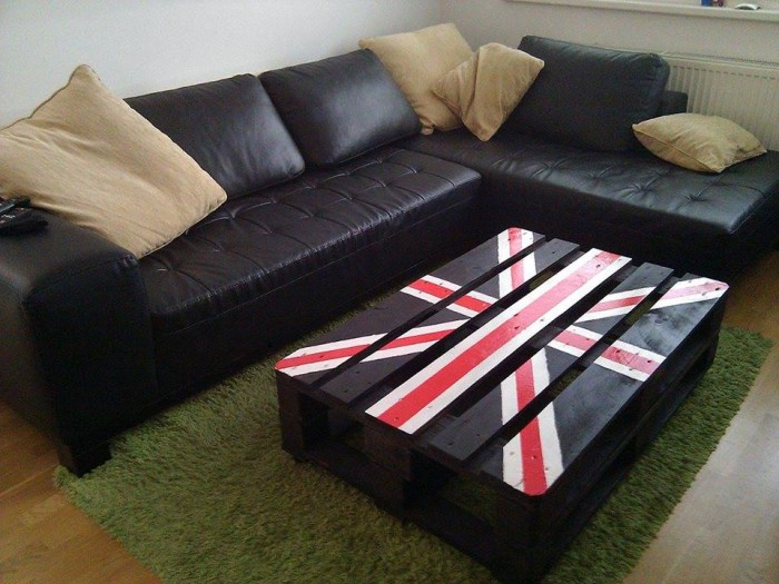 Pallet Flag Table