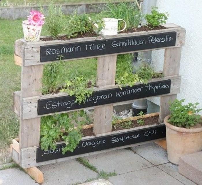 pallet garden ideas upcycle art. Black Bedroom Furniture Sets. Home Design Ideas
