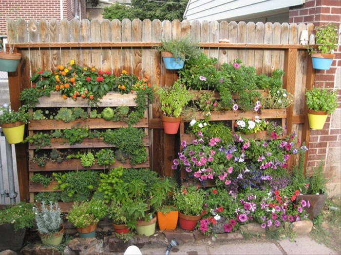 Pallet Garden Planter Ideas