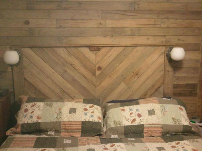 Pallet Headboard Upcycling Ideas