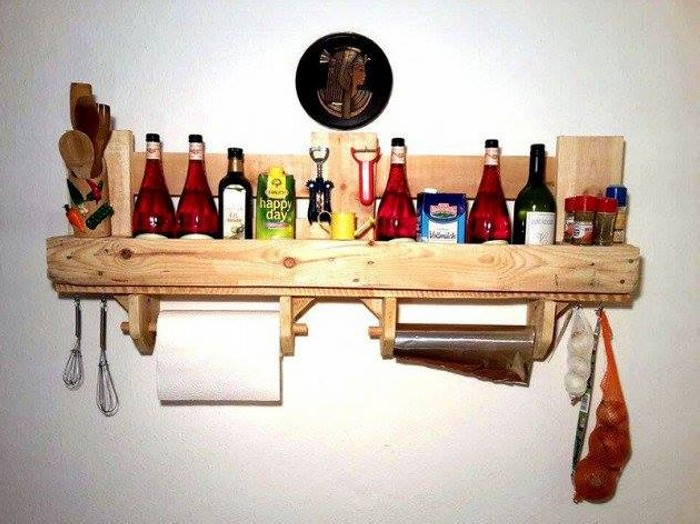 Pallet Shelf Upcycling Ideas