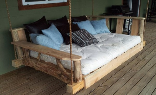 Pallet Swing Bed Ideas and designs
