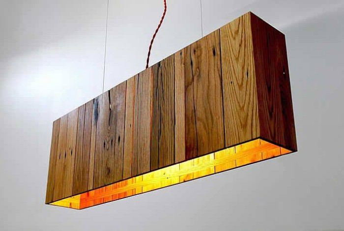 Pallet Upcycled Hanging Lights