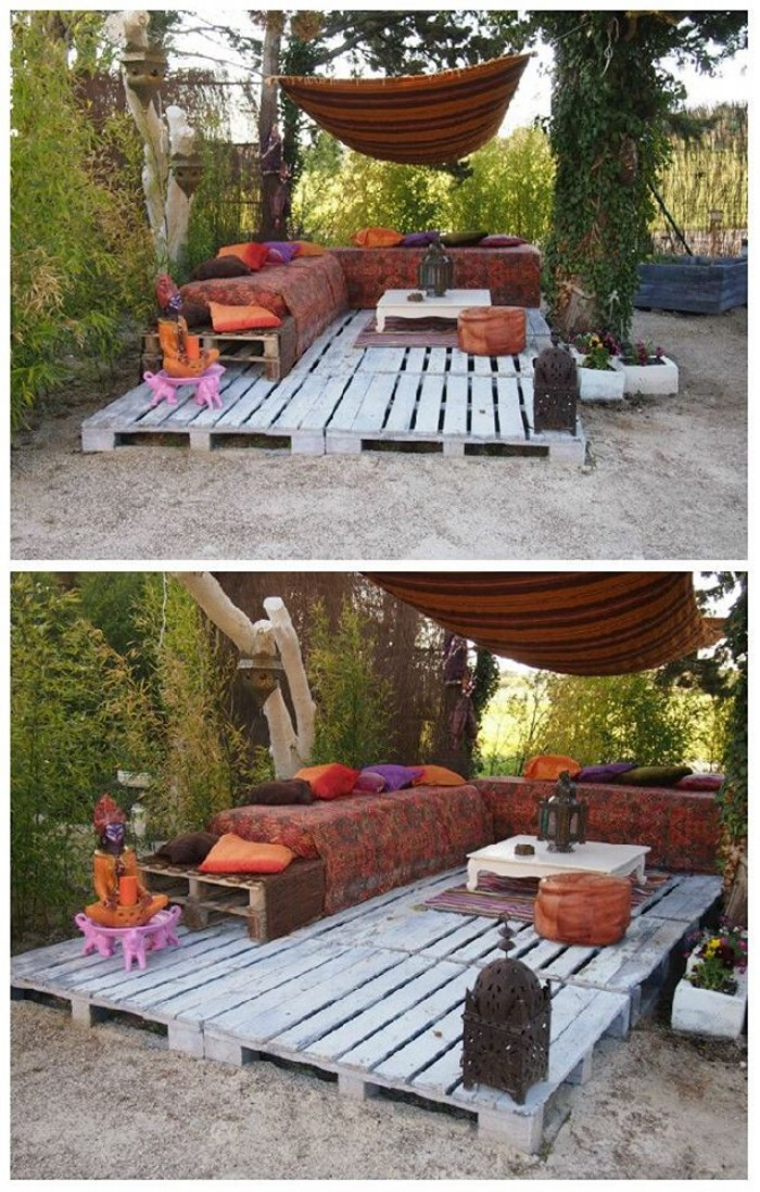 Pallets Upcycling Garden Ideas