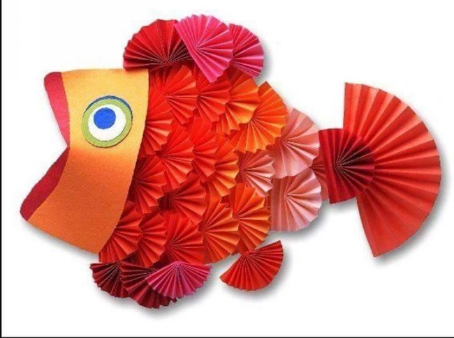 Paper Art Fish