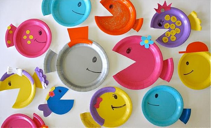 Paper Plate Crafts for Kids Playing