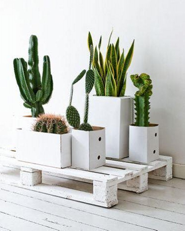 Planting Ideas with Wood Pallets