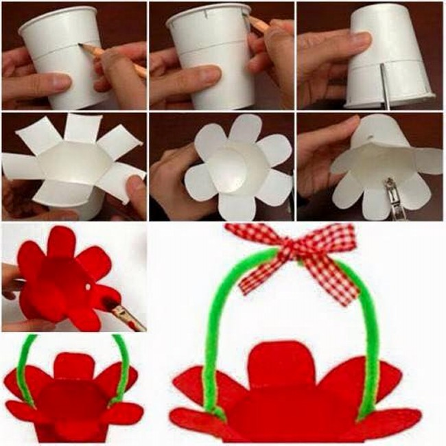Thermocol Glass Craft for Kids