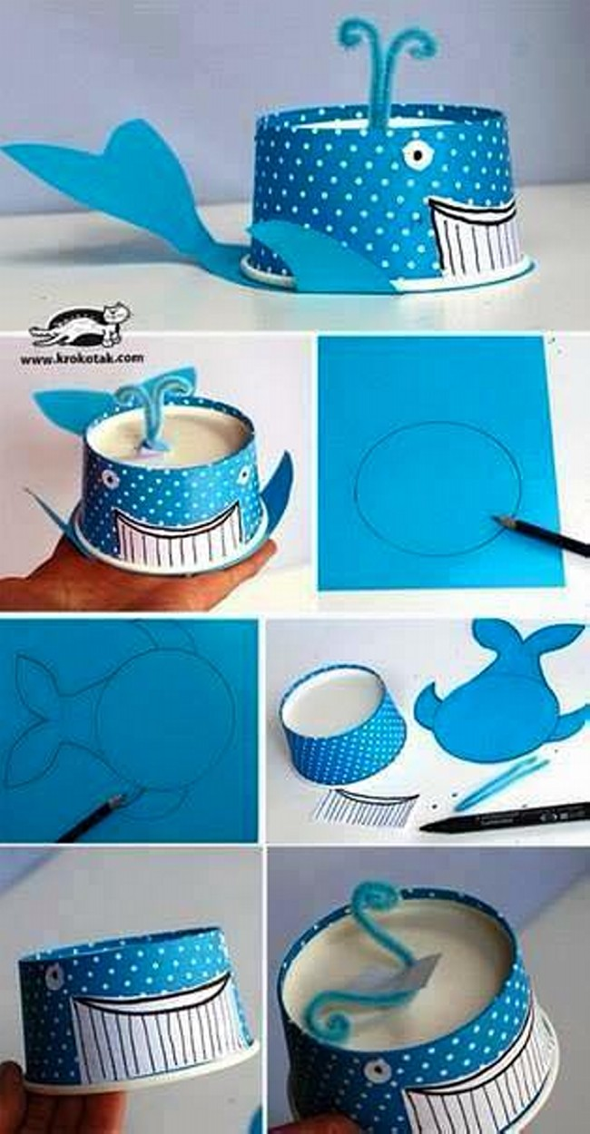 Thermocol Glasses Craft