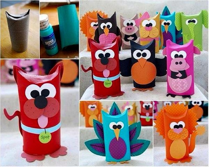Toilet Paper Roll Crafting