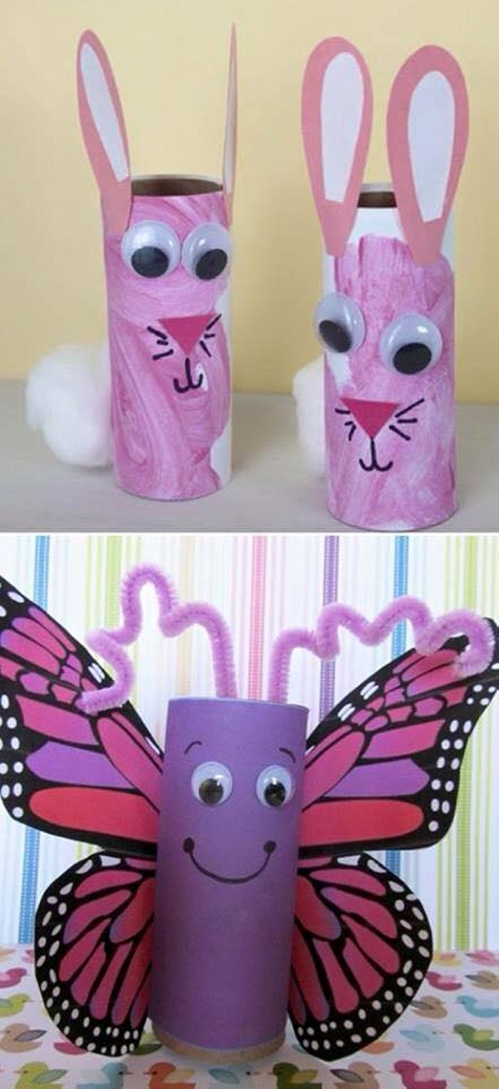 Toilet Paper Roll Arts And Crafts Kids