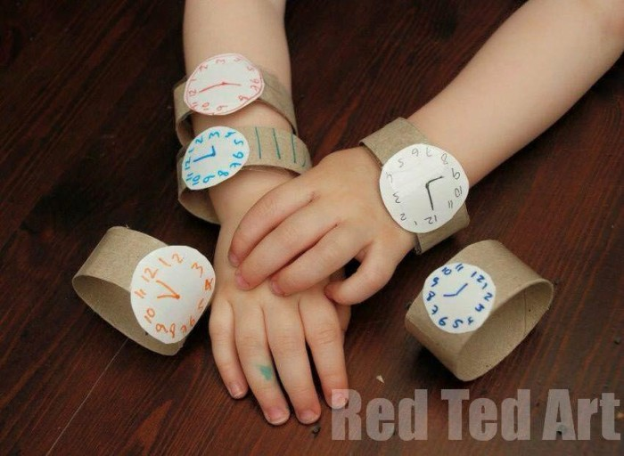 Toilet Paper Roll Watch Craft